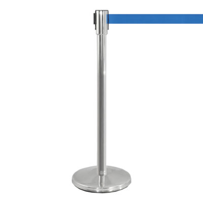 Potelet Flexi, bleu chrome