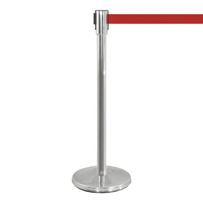 Potelet Flexi, chrome rouge