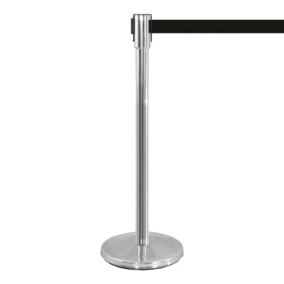 Potelet Flexi, chrome-noir