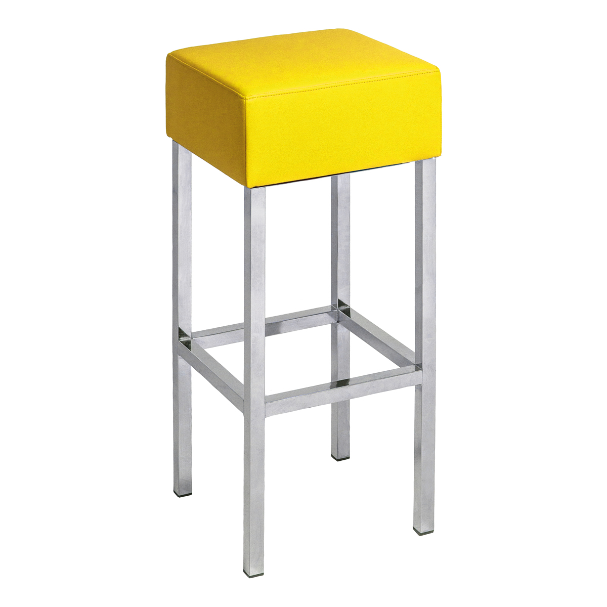 Cube gelb dlse mietm bel for Barhocker gelb