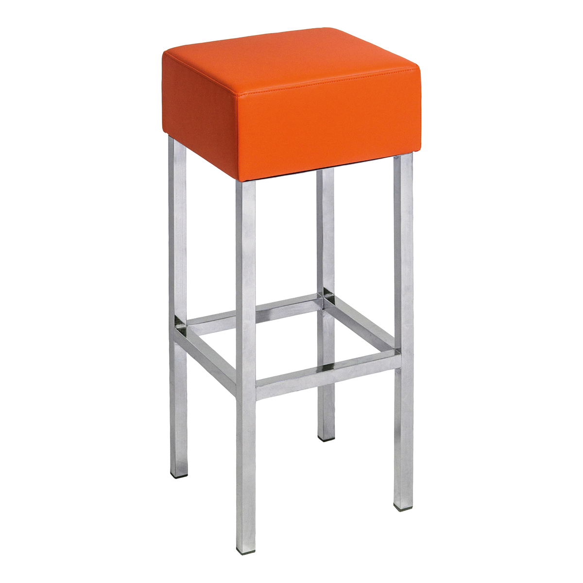 Cube orange dlse mietm bel for Barhocker orange