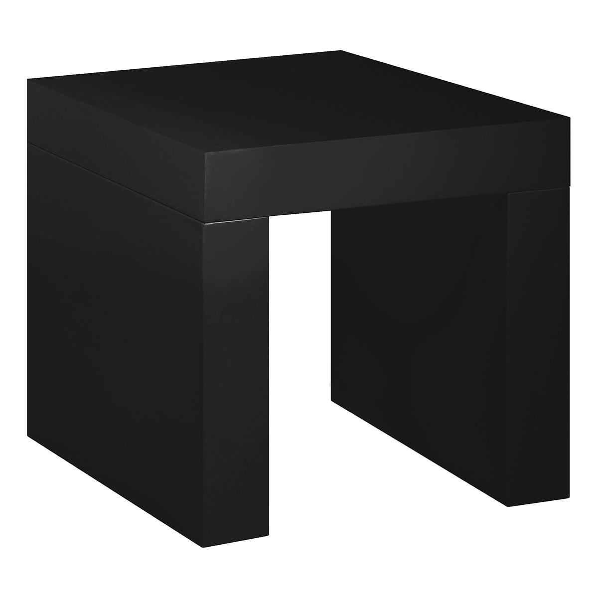 Beistelltisch Blanco 45, schwarz