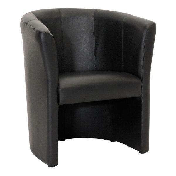 Sessel Club, schwarz