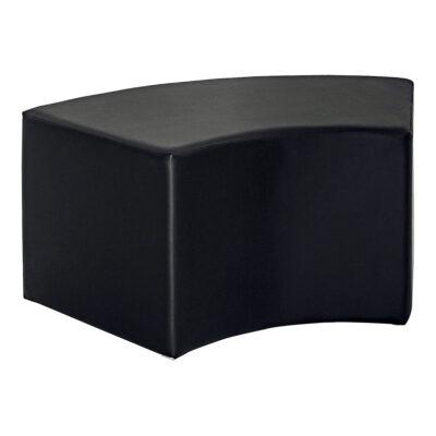 Hocker Cubi Curve, schwarz
