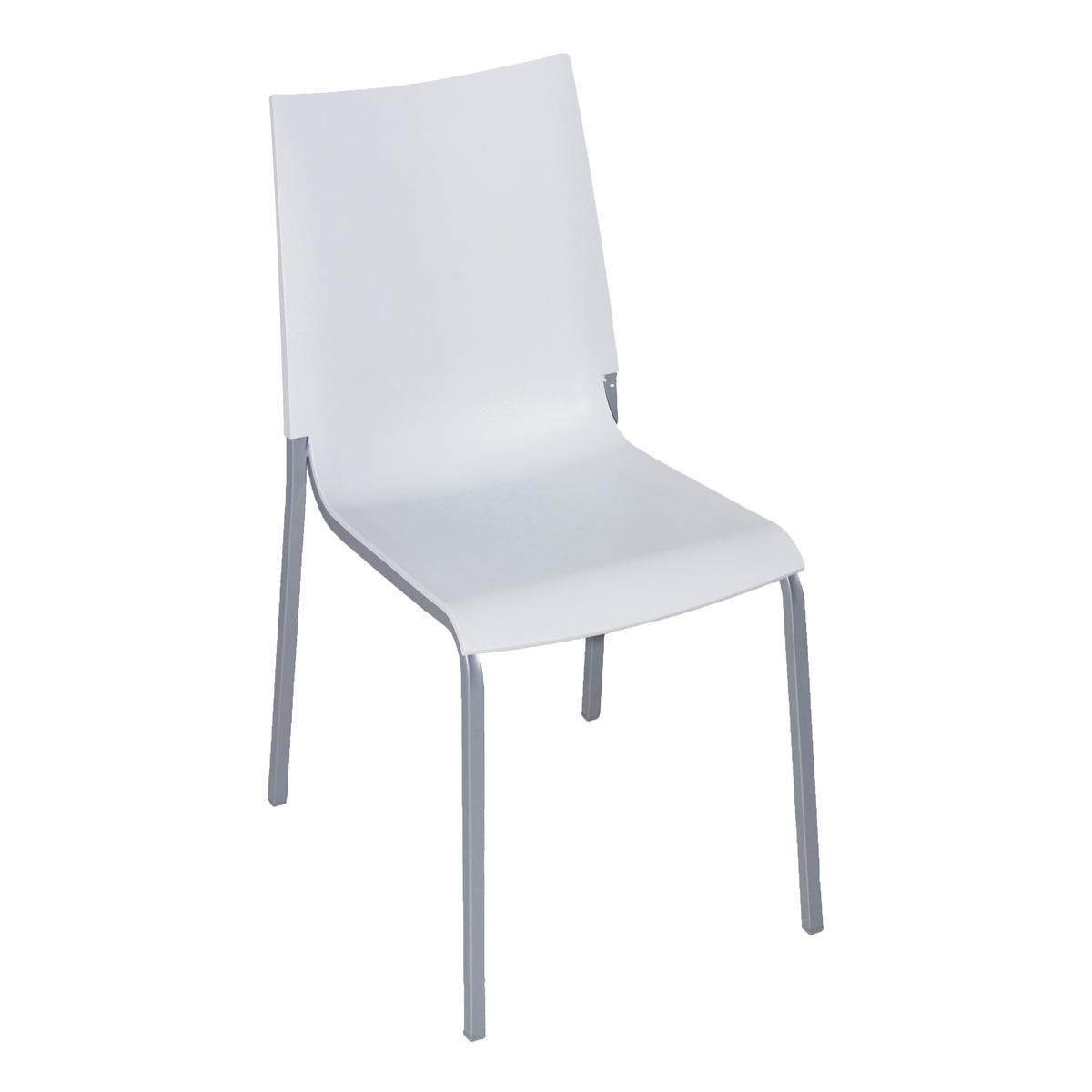 Stuhl Eva, weiß