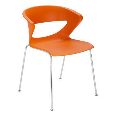 Stuhl Kicca, orange