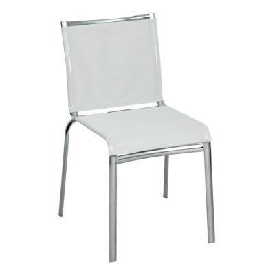 Stuhl Net, hellgrau