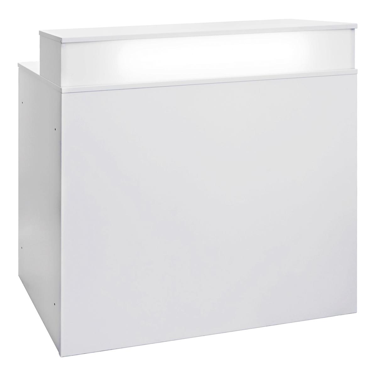 Theke Bianco, weiß-weiß