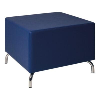 Hocker Dado, ohne Lehne, blau