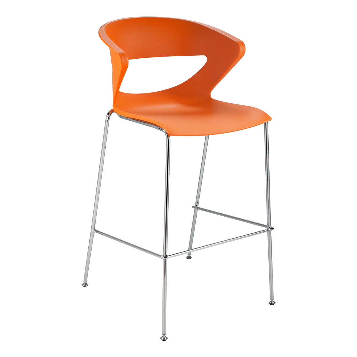 Kicca orange dlse mietm bel for Barhocker orange