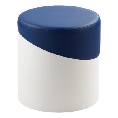 Hocker Nar, weiß-blau