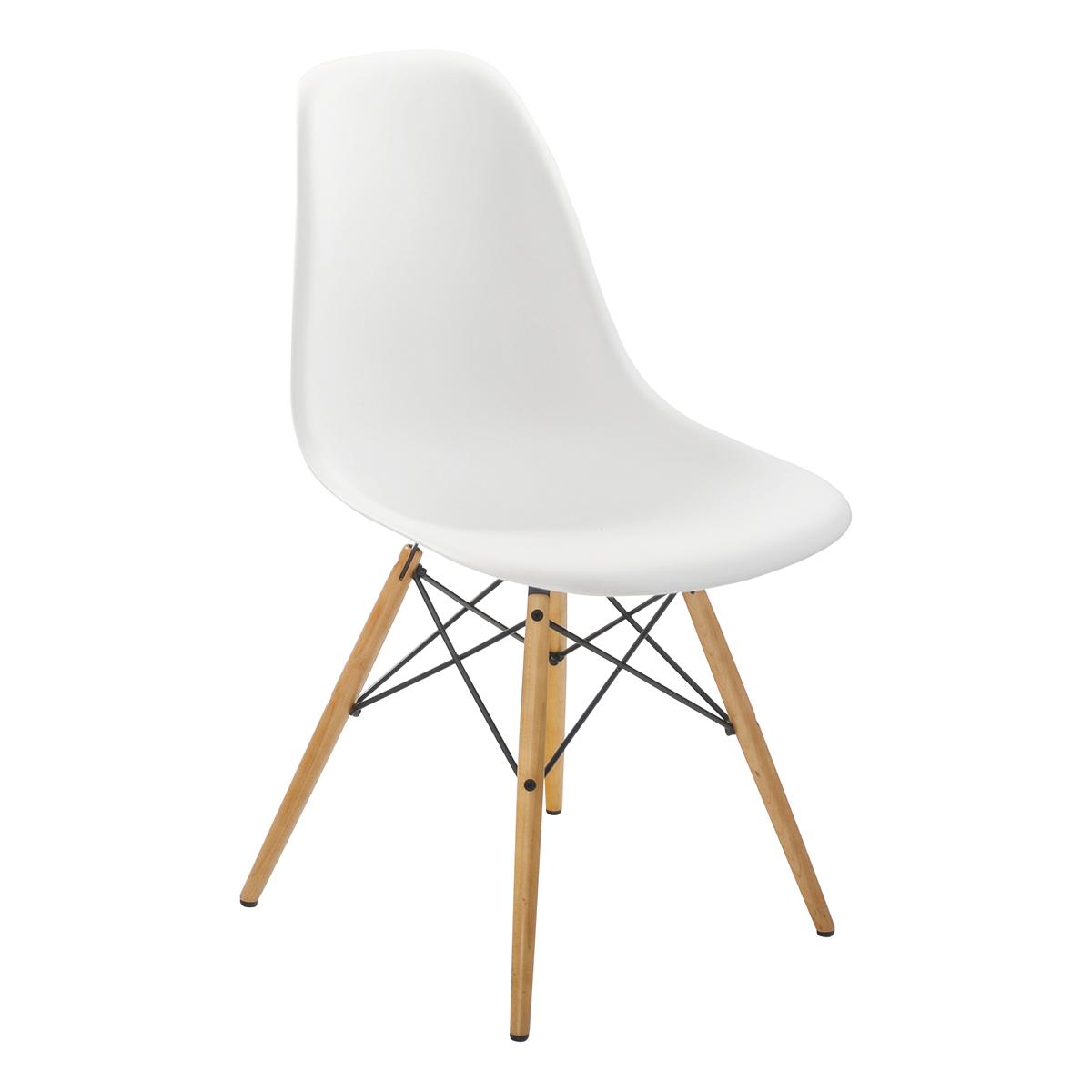 Stuhl DSW, weiß