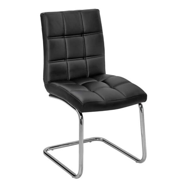 Stuhl Can, schwarz