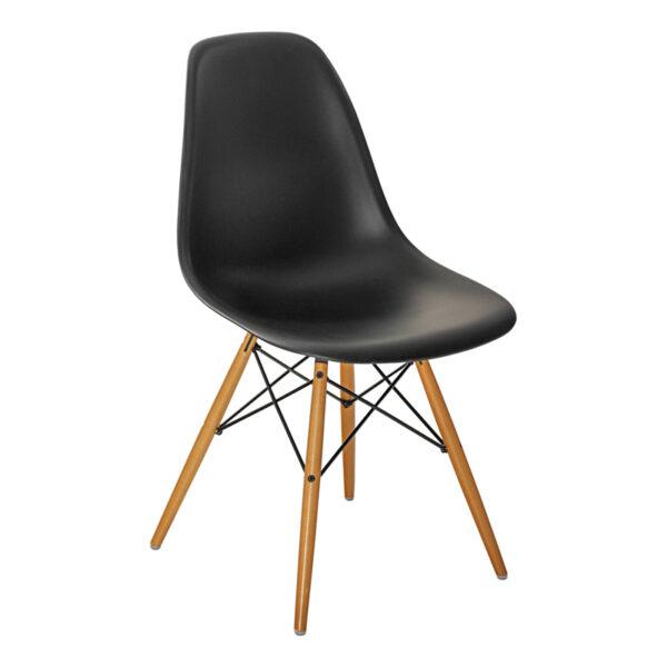 Stuhl DSW, schwarz