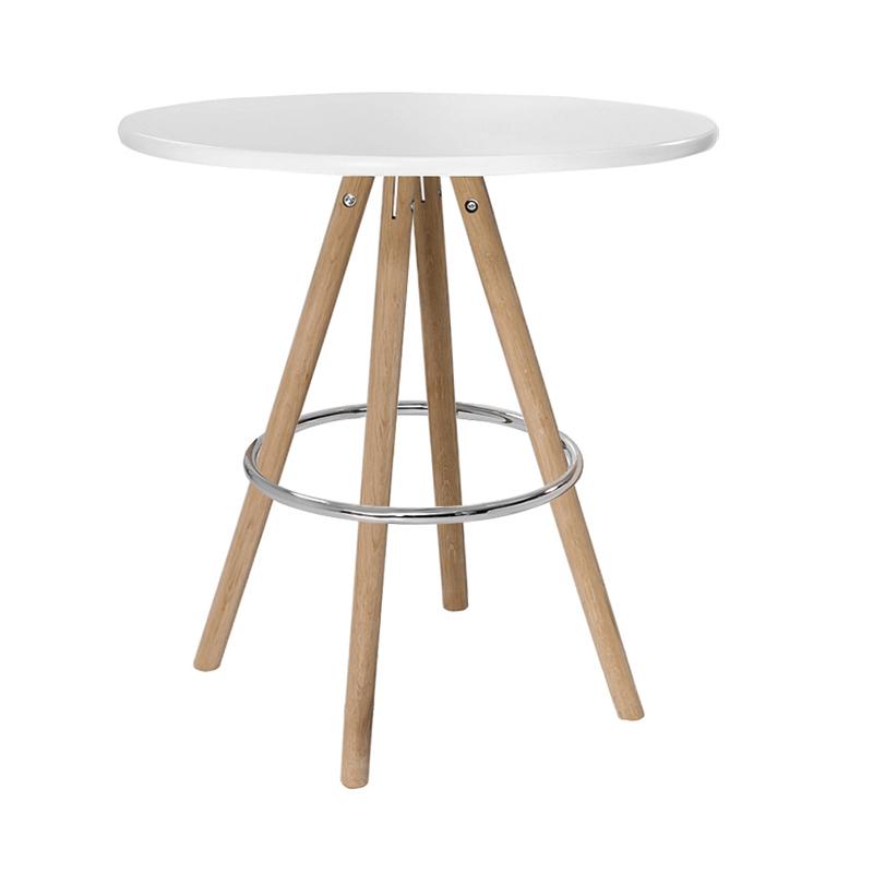 Sitztisch Orso, rund, weiß