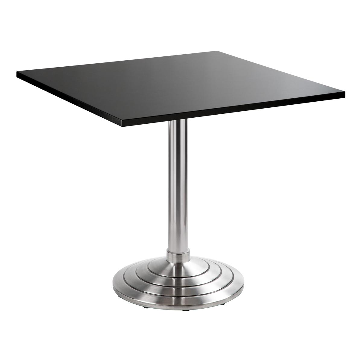 Sitztisch Athen, eckig, schwarz