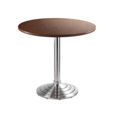 Sitztisch Athen, rund, Nussbaum
