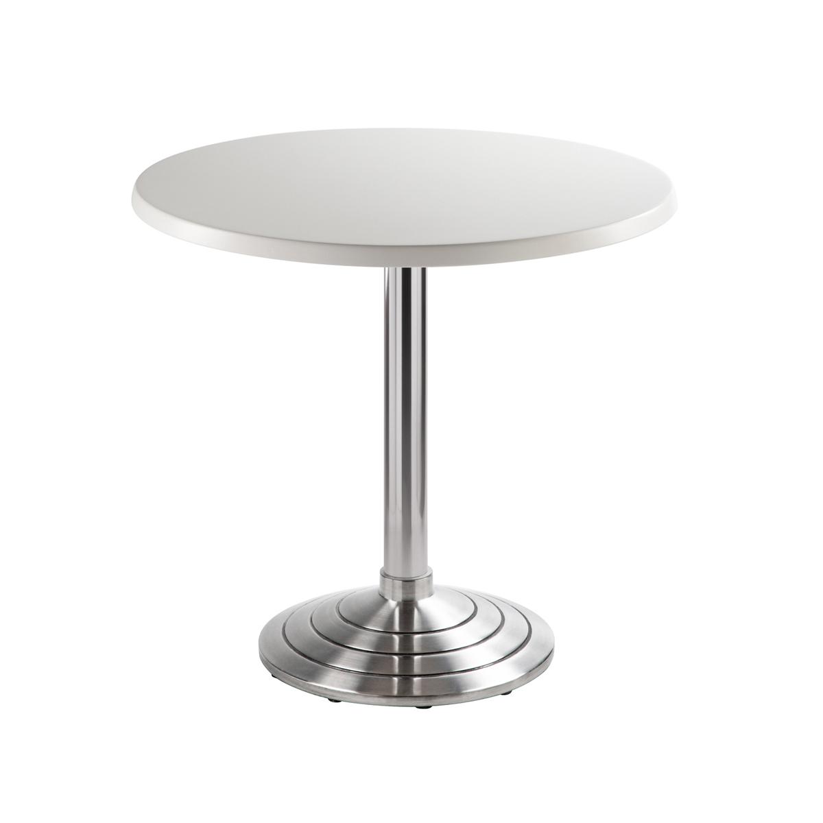 Sitztisch Athen, rund, weiß
