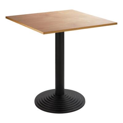 Sitztisch Nizza schwarz, eckig, Buche