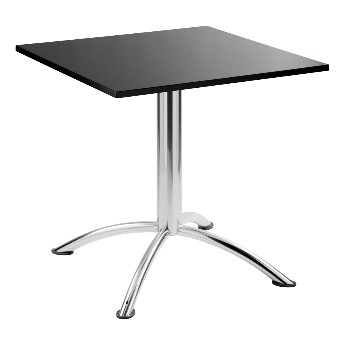 Sitztisch Sea, eckig, schwarz