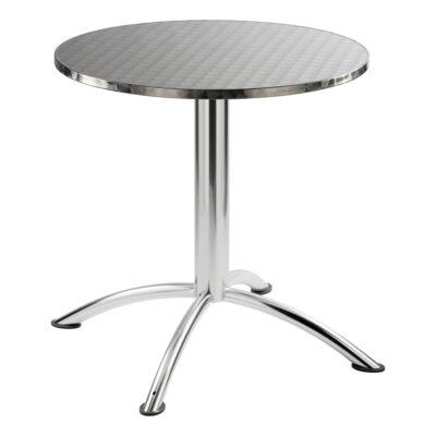 Sitztisch Sea, rund, Inox