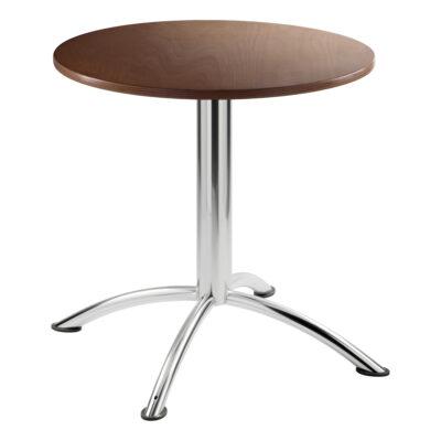 Sitztisch Sea, rund, Nussbaum