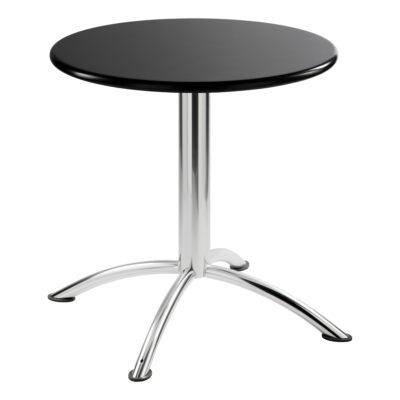 Sitztisch Sea, rund, schwarz