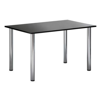 Sitztisch Genf, rechteckig, schwarz