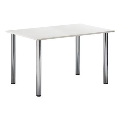 Sitztisch Genf, rechteckig, weiß
