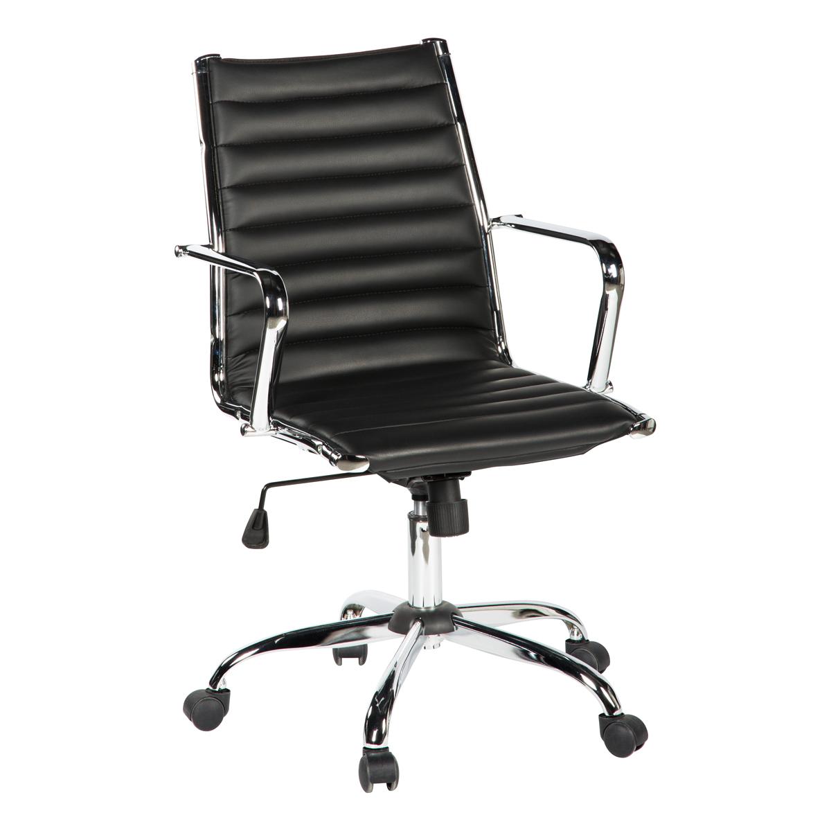 Bürodrehstuhl Laxy, schwarz