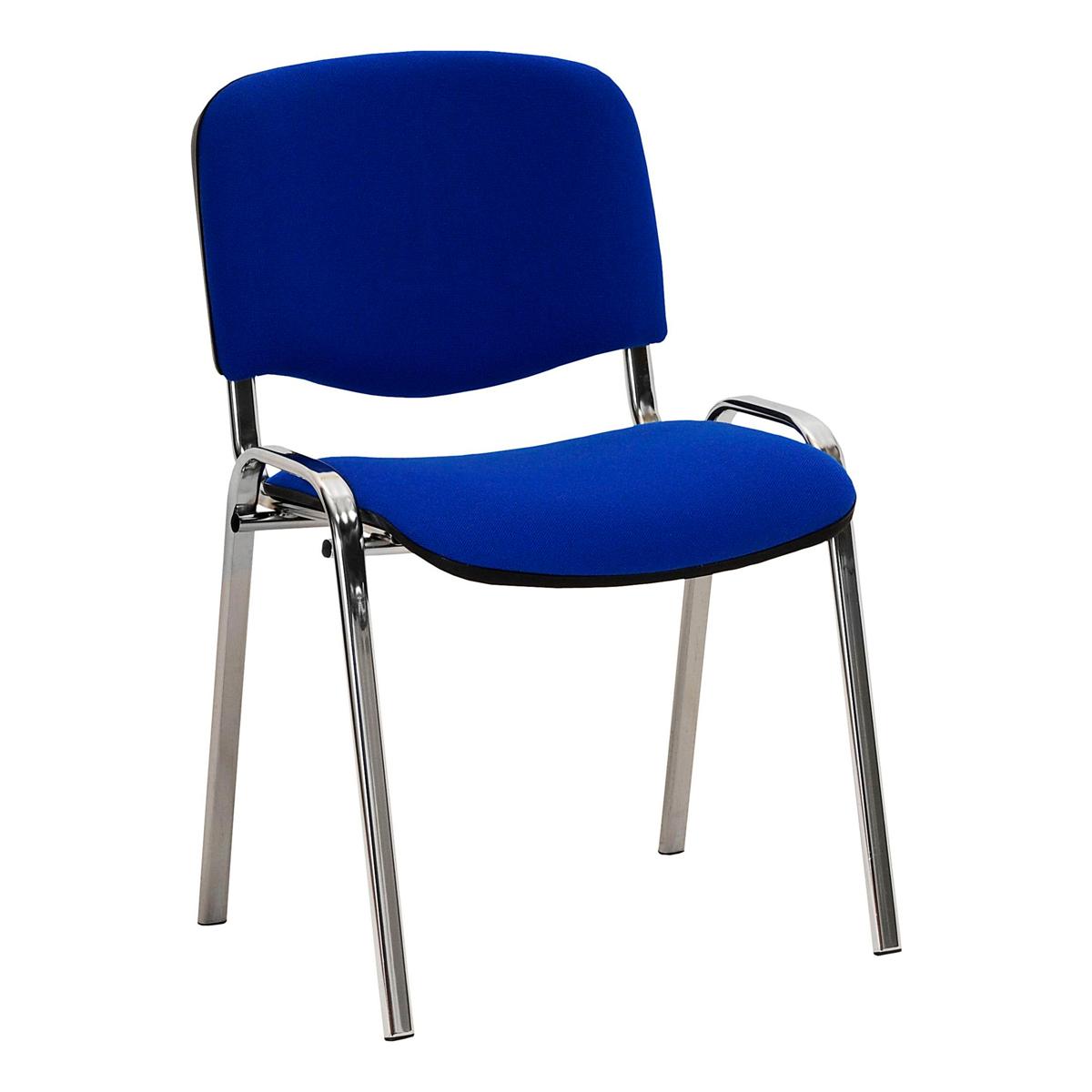 Polsterstuhl, blau