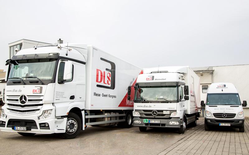 DLSE Mietmöbel – Transporter