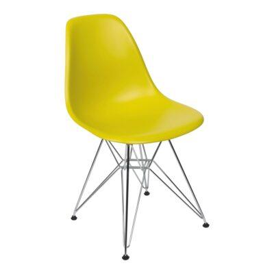 Stuhl DSR, senfgelb