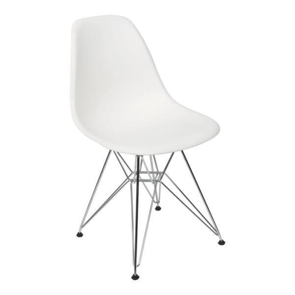 Stuhl DSR, weiß
