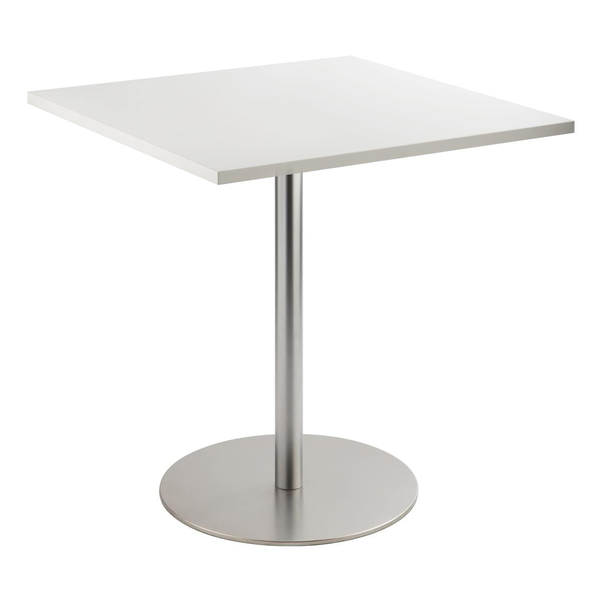 Sitztisch Brio, eckig, weiß