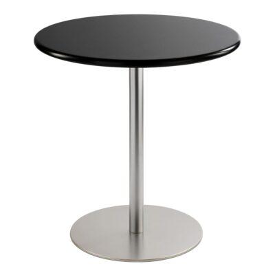 Table basse Brio, ronde, noire