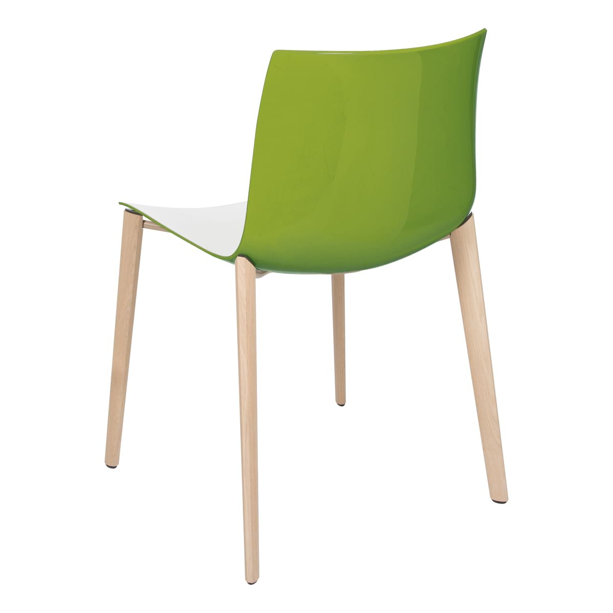 Stuhl Catifa Wood, grün