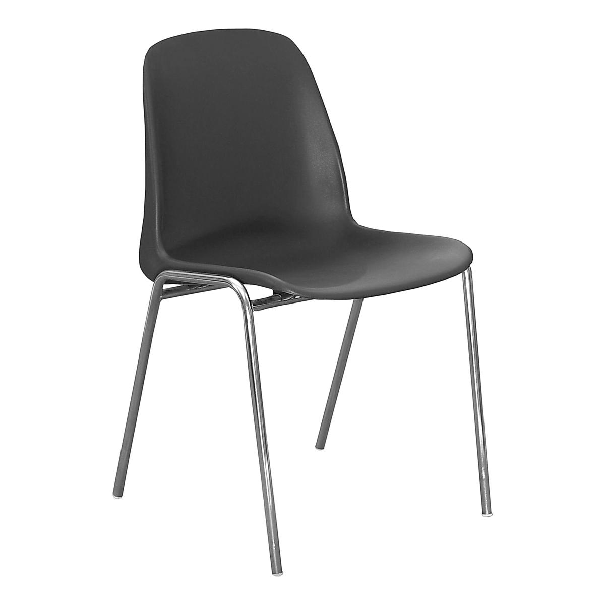 Stuhl Reihenstuhl anthrazit