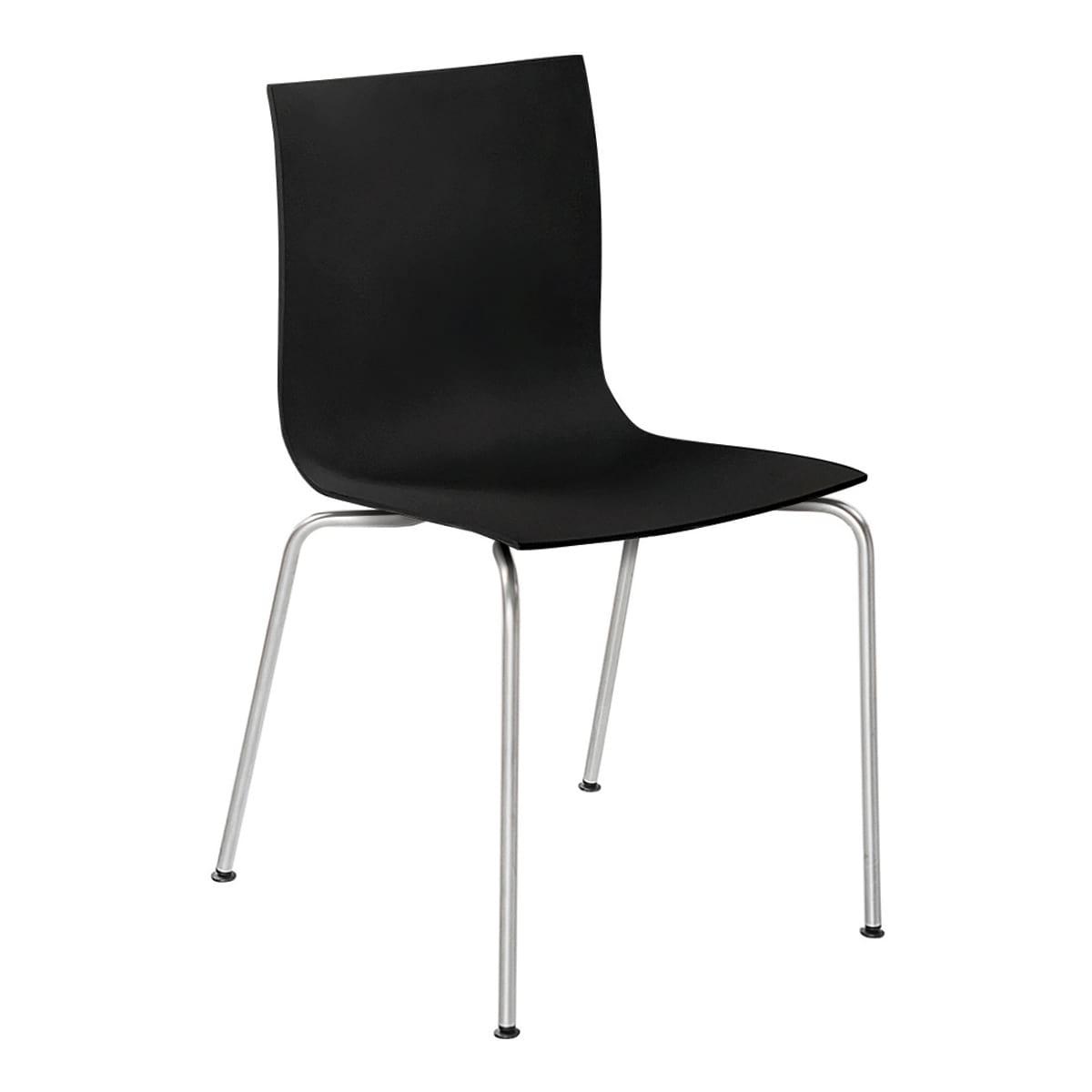 Stuhl Thin S16, schwarz