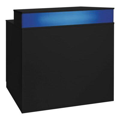 Theke Bianco, schwarz-blau
