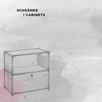 Teilkatalog 2018 | 2019 Schränke