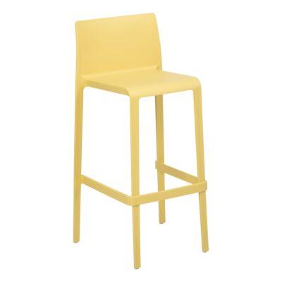 Tabouret Volt, jaune