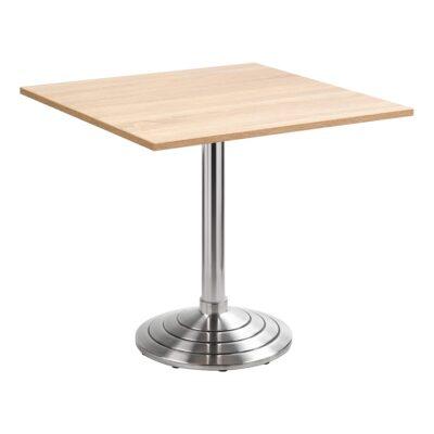 Table de siège Athen, angulaire, chêne clair