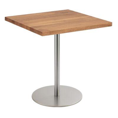 Table basse Brio, angulaire, chêne foncé