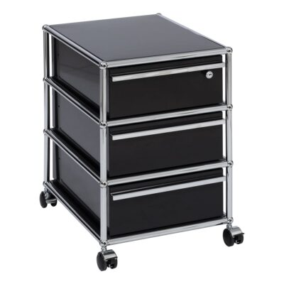 USM roll container, black