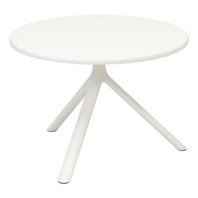 Table d'appoint Miura, blanc