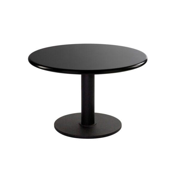 Table d'appoint Modo, ronde, noire