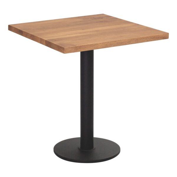 Sitztisch Modo, eckig, Eiche dunkel