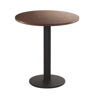 Sitztisch Modo, rund, Nussbaum