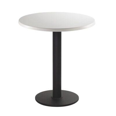 Sitztisch Modo, rund, weiß